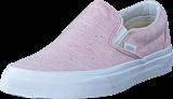 Vans - UA Classic Slip-On pink/true white
