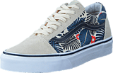 Vans - UA Old Skool classic white/french blue