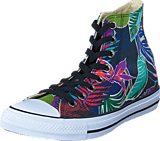 Converse - All Star Tropical Print Hi Fuschia Glow/Menta