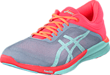 Asics - Fuzex 2  Rush Midgrey/Bay/Flash Coral
