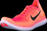 Nike - Wmns Free Rn Flyknit 2 Bright Mango/Black-Racer Pink