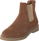 Pieces - Pamelin Suede Boot Cognac