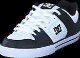DC Shoes - Pure Black/White/Black