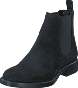 A Pair - Bootlet Jodpur Black Suede