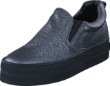 A Pair - Shiny Classic Slip On Antracite laminato /balck sole