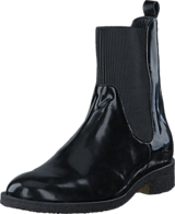 Angulus - Boot w. elastic slip-on design 1400 Black