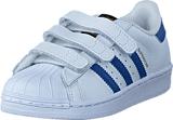 adidas Originals - Superstar Foundation Cf C Ftwr White/Eqt Blue S16/Eqt Bl
