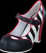 Lola Ramona - Angie P Black-Creme-Red