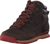 The North Face - Men's Back-To-Berkeley Redux Leather Carafe Brown/ Ketchup Red