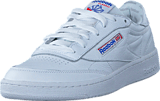 Reebok Classic - Club C 85 So White/Lgh Solid Grey/Vital Blu