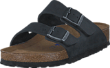 Birkenstock - Arizona Regular Soft Black Oiled Leather