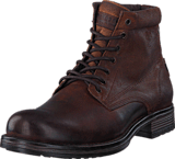 Jack & Jones - Justin Combo Leather Brown Stone