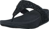 Fitflop - Glitterball Toe-Post Black