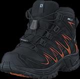 Salomon - Xa Pro 3D Mid Cswp J Black/Black/Orange Rust