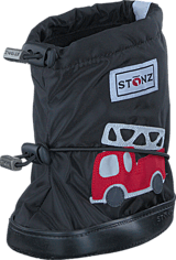 Stonz - Stonz Booties Fire truck - Black