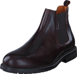 Hush Puppies - Charles Chelsea Dark Brown
