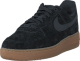 Nike - Wmns Air Force 1 '07 Se Black/Black Med Brown-Ivory
