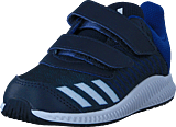 adidas Sport Performance - Fortarun Cf I Collegiate Navy/White/Royal