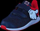 adidas Sport Performance - Dy Mickey Fortarun Cf I Scarlet/Vivid Red/Ftwr White