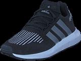 adidas Originals - Swift Run C Core Black/Silver Met/White