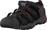 Keen - Newport Neo H2 Jr Black/firey Red