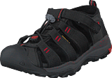 Keen - Newport Neo H2 Kids Black/firey Red