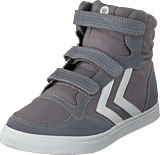 Hummel - Stadil Canvas Mono High Jr Frost Grey