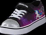 Heelys - Heelys Snazzy Lo Top White/purple/neon Multi