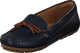 Clarks - Dameo Swing Navy Leather