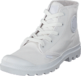 Palladium - Pampa Hi Ladies White/White