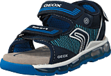 Geox - J Sandal Android Navy/lt Blue