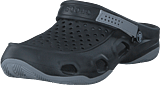 Crocs - Swiftwater Deck Clog M Black/light Grey