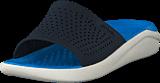 Crocs - Literide Slide Navy/white