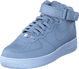 Nike - Air Force 1 Mid '07 Wolf Grey/wolf Grey-white