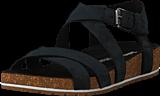 Timberland - Malibu Waves Ankle Sandal Jet Black Naturebuck