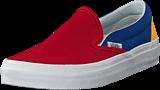Vans - Ua Classic Slip-on Yacht Club Red/blue/yellow
