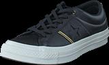 Converse - One Star Black/gold/egret