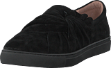 Dasia - Daylily Slip-on Bow Black/black
