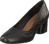 Clarks - Un Cosmo Step Black Leather